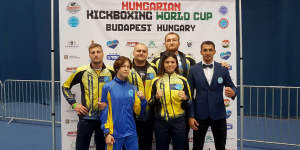 Вітаємо срібну призерку Кубку Світу з кікбоксингу!