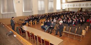 Відбулася зустріч представників фірм «КВС-Україна» та «UKRAVIT» з студентами