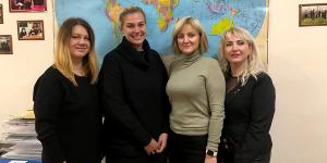 Зустріч з волонтером Корпусу Миру в Україні Морган Кінсайд